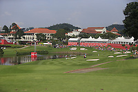 Looking down the 14th during Round 3 of the CIMB Classic in the Kuala Lumpur Golf & Country Club on Saturday 1st November 2014.<br /> Picture:  Thos Caffrey / www.golffile.ie