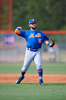 New York Mets Michael Paez (5) during a Minor League Spring Training intrasquad game on March 29, 2018 at the First Data Field Complex in St. Lucie, Florida.  (Mike Janes/Four Seam Images)
