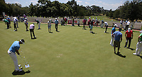 The putting practice area during the preview of the Tshwane Open 2015 at the Pretoria Country Club, Waterkloof, Pretoria, South Africa. Picture:  David Lloyd / www.golffile.ie. 10/03/2015