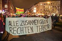 2020/02/20 Berlin   Demonstration gegen rechten Terror
