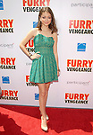 Sarah Hyland at the Summit Entertainment L.A. Premiere of Furry Vengeance held at The Bruin Theatre in Westwood, California on April 18,2010                                                                   Copyright 2010  DVS / RockinExposures