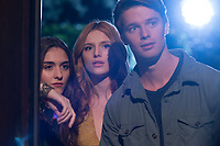 Midnight Sun (2018)  <br /> Quinn Shephard, Bella Thorne, Patrick Schwarzenegger <br /> *Filmstill - Editorial Use Only*<br /> CAP/KFS<br /> Image supplied by Capital Pictures