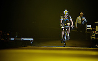 Tom Meeusen (BEL/Telenet-Fidea) takes part in the festivities<br /> <br /> 'Merci Sven' (twice!) sold out arena event: <br /> tribute-show celebrating Sven Nys' career/retirement together with 18.000 people in the Sportpaleis Arena