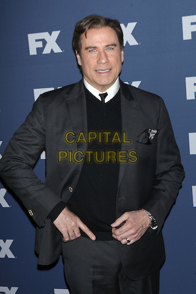 NEW YORK, NY - MARCH 30: John Travolta at FX Networks Upfront Premiere Screening of &ldquo;The People v. O.J. Simpson: American Crime Story&rdquo; at AMC Empire 25 on March 30, 2016. <br /> CAP/MPI99<br /> &copy;MPI99/Capital Pictures