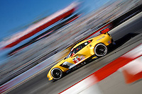 #3 Corvette of Jan Magnussen and Antonio Garcia, Long Beach Grand Prix, Long Beach, CA, April 2014.  (Photo by Brian Cleary/ www.bcpix.com )
