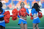 The Hague, Netherlands, June 01: Cheerleaders during halftime during the field hockey group match (Men - Group B) between the Black Sticks of New Zealand and Korea on June 1, 2014 during the World Cup 2014 at GreenFields Stadium in The Hague, Netherlands. Final score 2:1 (1:0) (Photo by Dirk Markgraf / www.265-images.com) *** Local caption ***