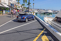 Changed times. Not so long ago getting parked at the marina in Puerto Banus, Marbella, Spain, was a nightmare. This photograph was taken October 2018. 2018101205126<br /><br />Copyright Image from Victor Patterson, 54 Dorchester Park, Belfast, UK, BT9 6RJ<br /><br />t1: +44 28 9066 1296 (from Rep of Ireland 048 9066 1296)<br />t2: +44 28 9002 2446 (from Rep of Ireland 048 9002 2446)<br />m: +44 7802 353836<br /><br />e: victorpattersonbelfast@gmail.com<br /><br />The use of any of my copyright images is subject to my Terms &amp; Conditions. It is IMPORTANT that you familiarise yourself with them. They are available at my website, victorpatterson.com.<br /><br />None of my copyright images may be used on the Internet unless they are visibly watermarked, i.e. &copy; Victor Patterson within the body of the image. My metadata, denoting my copyright must NOT be deleted. <br /><br />Web use is extra at currently recommended NUJ rates. Maximum permitted web size is<br /> 400kb. <br /><br />Images must not be passed on to a third party - they are for the use of the authorised recipient only.