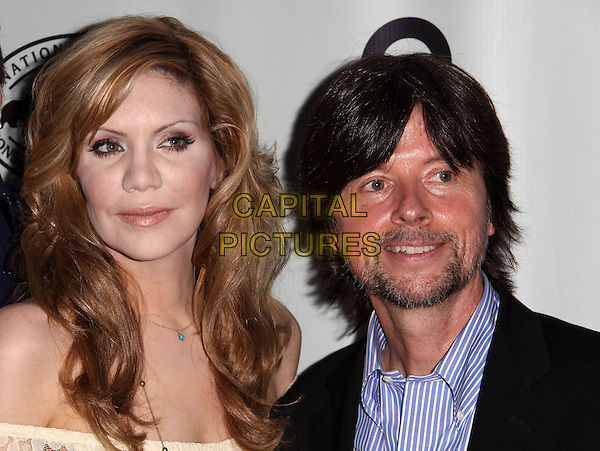 ALISON KRAUSS & KEN BURNS .NPCA and PBS Host A National Parks Celebration in Central Park, New York, NY, USA, 23rd September 2009..portrait headshot wavy hair goatee facial hair .CAP/ADM/PZ.©Paul Zimmerman/AdMedia/Capital Pictures.