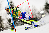 2nd February 2019, Maribor, Slovenia;  Nastasia Noens of France in action during the Audi FIS Alpine Ski World Cup Women's Slalom Golden Fox on February 2, 2019 in Maribor, Slovenia