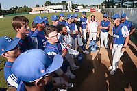 20 August 2010: Team France gathers around Boris Rothermundt, Rodolphe Le Meur, and Keino Perez, after France 6-5 win over Italy, at the 2010 European Championship, under 21, in Brno, Czech Republic.