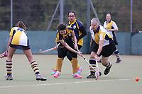 Romford score their first goal during Romford HC Ladies 2nd XI vs Braintree HC Ladies 3rd XI, Essex Women's League Field Hockey at Bower Park Academy on 16th November 2019