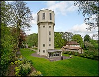 BNPS.co.uk (01202 558833)<br /> Pic:  OnTheMarket/BNPS<br /> <br /> Seventh Heaven - Seven storey water tower in Cheshire that appered on George Clarkes The Restoration Man is for sale.<br /> <br /> A dilapidated old water tower which has been transformed into a stunning family home has gone on the market for £1,750,000.<br /> <br /> High Legh Water Tower, in Knutsford, Cheshire, was built in 1938 to improve the water supply to the area until it was decommissioned in 2007.<br /> <br /> The 85ft tall tower fell into disrepair before it was spotted by property developer Andrew Jones while playing a round of golf nearby.