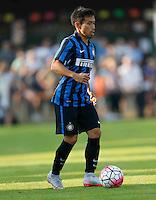 Yuto Nagamoto<br /> italian Prseason soccer match between FC inter e Carpi , at Stadium of Rischione di Brunico Italy July 15, 2015