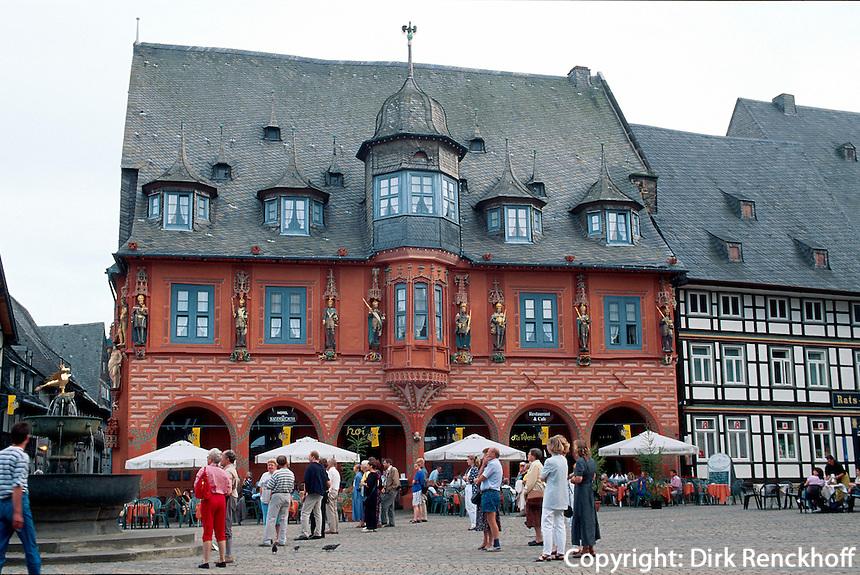 Gildehaus Kaiserworth in Goslar, Deutschland, Unesco-Weltkulturerbe