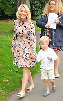Laura Hamilton and Rocco Goward at the In Kind Direct's 20th Birthday Celebration picnic garden party, Ranelagh Gardens, The Royal Hospital, Chelsea, London, England, UK, on Tuesday 08 August 2017.<br /> CAP/CAN<br /> &copy;CAN/Capital Pictures