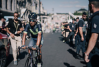 Nairo Quintana (COL/Movistar) rolling in after losing minutes over the other GC contenders and even tumbling out of the top 10 overall<br /> <br /> 104th Tour de France 2017<br /> Stage 15 - Laissac-Sévérac l'Église › Le Puy-en-Velay (189km)