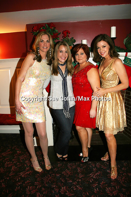 Kassie DePaiva - Kristen Alderson - Kathy Brier - Bobbie Eakes - The Divas of Daytime TV performed a Christmas Show on December 5, 2009 at the Broadway Theatre in Pitman, New Jersey. (Photos by Sue Coflin/Max Photos)