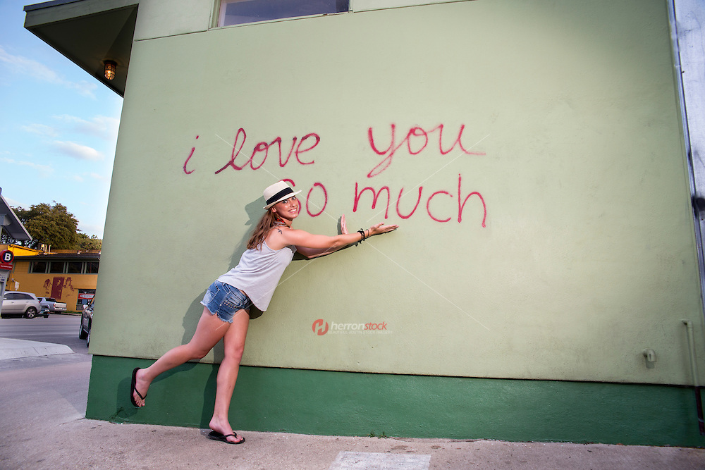 "Austin is home to some amazing street art and murals, ""I love you so much"" mural is among the most popular."
