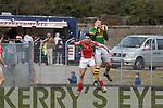 Kerry's Kieran Donaghy and Mayo's Kieran Conroy.