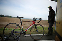 cross bike at the ready<br /> <br /> GP Mario De Clercq<br /> Hotondcross 2014