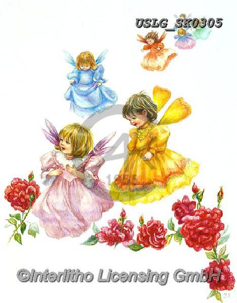CHILDREN, KINDER, NIÑOS, paintings+++++,USLGSK0305,#K#, EVERYDAY ,Sandra Kock, victorian