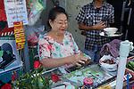 Selling Paan Near Gyee Zai Market