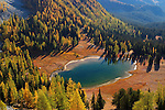 Boiling Lake in the Chelan Sawtooth Area of Wenatchee-Okanogan National Forest, Washington.