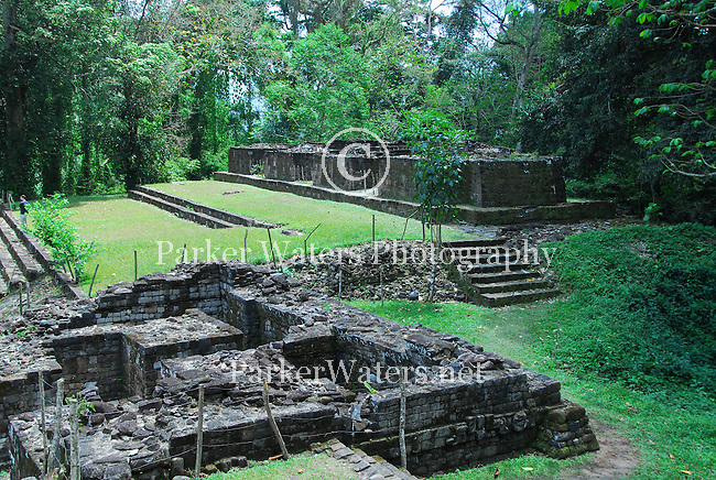 The Mayan Ruins of Quirigua in Guatemala. Qurigua is best known for it's 22 stelae, some of the tallest in the Mayan civilization.
