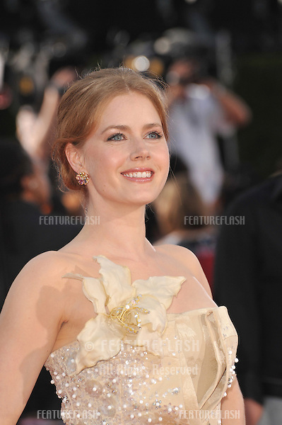 "Amy Adams at the Los Angeles premiere of ""Tropic Thunder"" at the mann Village Theatre, Westwood..August 11, 2008  Los Angeles, CA.Picture: Paul Smith / Featureflash"