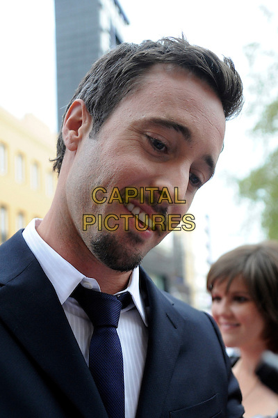 "ALEX O'LOUGHLIN.""The Back-Up Plan"" UK Film Premiere, Vue cinema Leicester Square, London, England, UK, 28th April 2010.headshot portrait black  goatee facial hair .CAP/IA.©Ian Allis/Capital Pictures."