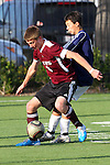 El Segundo, CA 02/04/10 - \t6\ and Adam Lund (El Segundo#6) in action during the El Segundo - Torrance league game, El Segundo defeated Torrance with a late minute goal in the second overtime period.