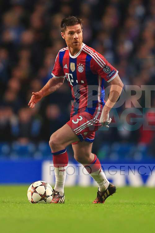 Xabi Alonso of Munich - Manchester City vs. Bayern Munich - UEFA Champion's League - Etihad Stadium - Manchester - 25/11/2014 Pic Philip Oldham/Sportimage