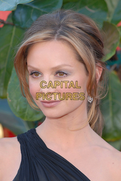 CALISTA FLOCKHART.58th Annual Primetime Emmy Awards held at the Shrine Auditorium, Los Angeles, California, USA..August 27th, 2006.Ref: ADM/CH.headshot portrait one shoulder.www.capitalpictures.com.sales@capitalpictures.com.©Charles Harris/AdMedia/Capital Pictures.