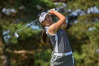 Jeong Eun Lee (KOR) watches her tee shot on 3 during round 1 of the 2018 KPMG Women's PGA Championship, Kemper Lakes Golf Club, at Kildeer, Illinois, USA. 6/28/2018.<br /> Picture: Golffile | Ken Murray<br /> <br /> All photo usage must carry mandatory copyright credit (&copy; Golffile | Ken Murray)