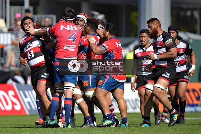 NELSON, NEW ZEALAND September 23: Mitre 10 Cup Mako v Counties, Tarfalgar Park, Nelson, New Zealand, September 23, 2018 (Photos by: Barry Whitnall/Shuttersport Ltd
