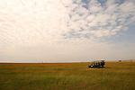 Africa  Kenya Masai Mara on safari looking for photo opportunities
