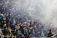 St. Paul, MN - Saturday May 18, 2019: Minnesota United FC defeated Columbus Crew 1-0 during their Major League Soccer (MLS) match at Allianz Field.