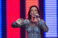 SAO PAULO, SP, 21,08.2015 -SHOW-SP - Cantora baiana Ivete Sangalo durante show no Espaço das Americas na noite desta sexta-feira,21. (Foto: Vanessa Carvalho/Brazil Photo Press)