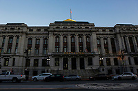 NEWARK, NJ - JANUARY 18: General view of Newark City Hall on January 18, 2018 in Newark, New Jersey. Amazon has released a shortlist for its much-anticipated second headquarters, with New York City and Newark, New Jersey, among the 20 locations that made the cut. (Photo by Eduardo MunozAlvarez/VIEWpress)