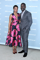 NEW YORK, NY - MAY 14: Susan Kelechi Watson and Sterling K. Brown at the 2018 NBCUniversal Upfront at Rockefeller Center in New York City on May 14, 2018. <br /> CAP/MPI/RW<br /> &copy;RW/MPI/Capital Pictures