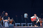'Habichuela Nieto' during a concert in Jardin Botanico de Madrid. Madrid, July 12 2019.(ALTERPHOTOS/Francis Gonzalez)