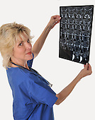 Woman radiologist Medical Doctor