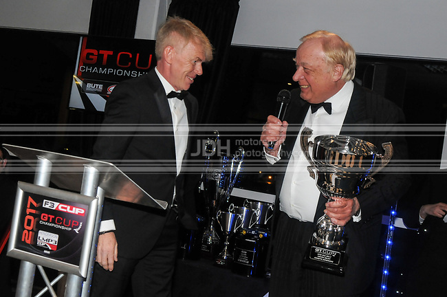 Kevin Riley - National Motorsport - GT Cup Championship Awards And Dinner Brands Hatch 2018