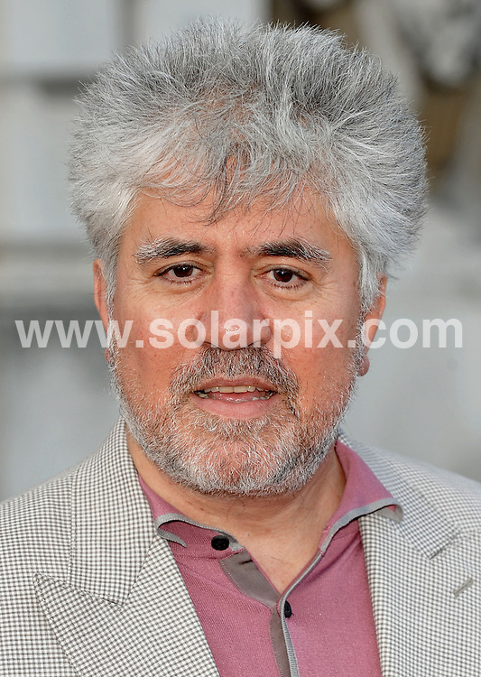 **ALL ROUND PICTURES FROM SOLARPIX.COM**.**WORLDWIDE SYNDICATION RIGHTS**.Spanish actress Penelope Cruz and Spanish Film  Director Pedro Almodovar attend the UK premiere of Broken Embraces at Sommerset House, London..This pic: Pedro Almodovar..JOB REF: 9643       SSD     DATE:30.07.09.**MUST CREDIT SOLARPIX.COM OR DOUBLE FEE WILL BE CHARGED**.**ONLINE USAGE FEE GBP 50.00 PER PICTURE - NOTIFICATION OF USAGE TO PHOTO @ SOLARPIX.COM**.**CALL SOLARPIX : +34 952 811 768 or LOW RATE FROM UK 0844 617 7637**
