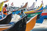Fishing industry, Cochin, Kerala, India