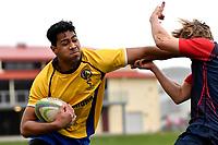 20190608 College Rugby - Rongotai College v Hutt International Boys' School