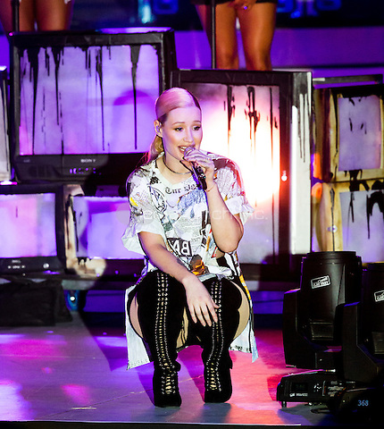 LAS VEGAS, NV - May 15, 2016: ***HOUSE COVERAGE*** Iggy Azalea performing at CBS Radio Presents: SPF at The Boulevard Pool at The Cosmopolitan of Las Vegas in Las vegas, NV on May 15, 2016. Credit: Erik Kabik Photography/ MediaPunch