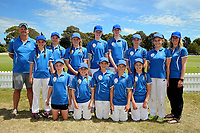 St Mary's School (CARTERTON) after the National Primary School Cricket Cup at the Bert Sutcliffe Oval, Lincoln University, Christchurch, New Zealand. Saturday 25 November 2017. Photo: Martin Hunter/www.bwmedia.co.nz