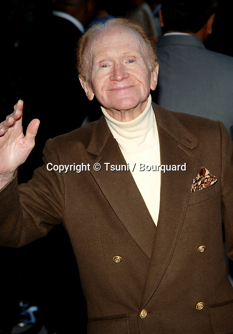 "Red Buttons arriving at the ""A Father...A Son...Once Upon A Time in Hollywood Premiere at the Academy of Motion PicturesArts and Science in Los Angeles. July 14, 2005."