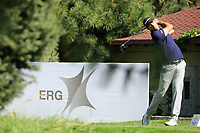 Robin Roussel (FRA) during the first round of the Kazakhstan Open presented by ERG played at Zhailjau Golf Resort, Almaty, Kazakhstan. 13/09/2018<br /> Picture: Golffile | Phil Inglis<br /> <br /> All photo usage must carry mandatory copyright credit (&copy; Golffile | Phil Inglis)